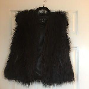 Via Spiga Faux Fur vest (small)